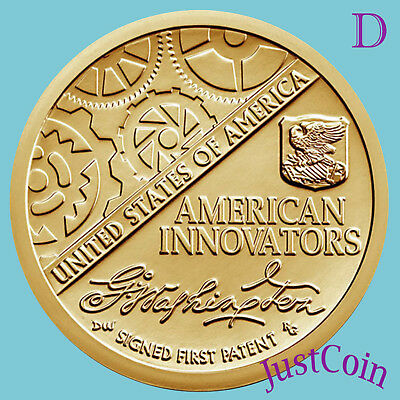 2018-D American Innovation Introductory Uncirculated Golden Dollar