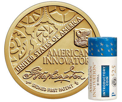 2018-D American Innovation Introductory Golden Uncirculated Dollars Roll