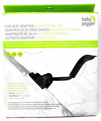 Baby Jogger Car Seat Adapter Single for Chicco and Peg-Perego