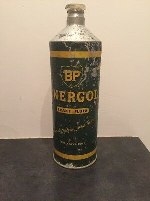 ancien bidon bp energol brake fluid