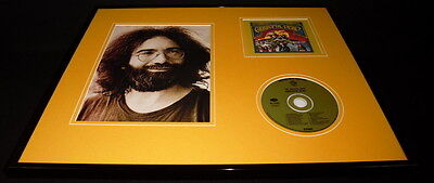 Jerry Garcia 16x20 Framed Grateful Dead CD & Photo Display