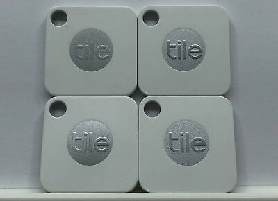 Tile Mate Bluetooth Tracker Phone Wallet Anything Finder (4-Pack) - Brand New