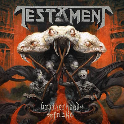 Brotherhood of the Snake TESTAMENT CD ( FREE SHIPPING)