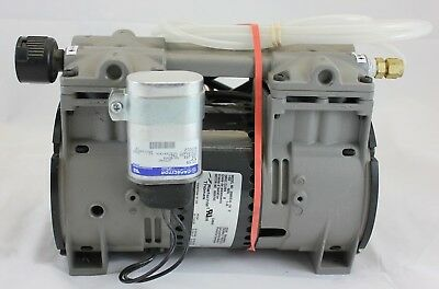Thomas 2688VE44-59 115v 60Hz 3.3a Piston Air Compressor/Vacuum Pump K48ZZFCD3718
