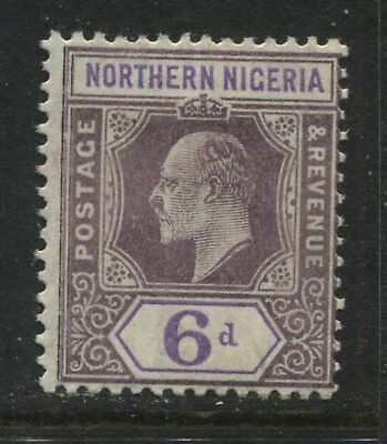 Northern Nigeria KEVII 1906 6d on chalky paper mint o.g.