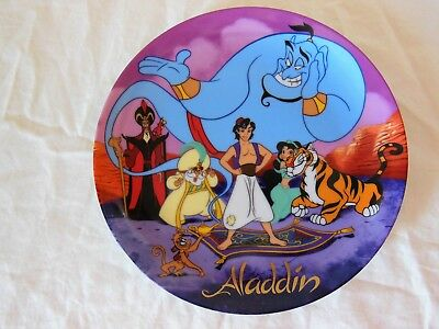 Walt Disney Classic ALADDIN Collector Plate 1992 Limited Edition