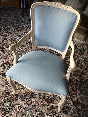 French Louis Style Vintage Bedroom Chair Antique Style Shabby Chic