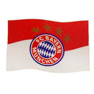 FC Bayern Munich Flag RD Crest Fan Large New Official Licensed Football Product
