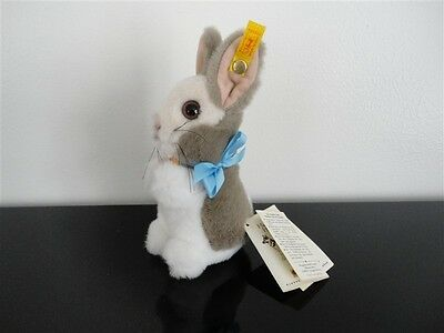 Steiff Cosy Manni Hase Bunny Rabbit 1999 086984 All Tags Booklet
