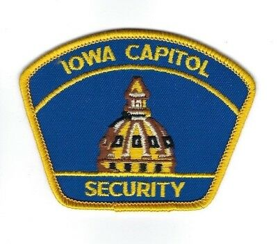 State of Iowa IA Capitol Security patch - NEW!