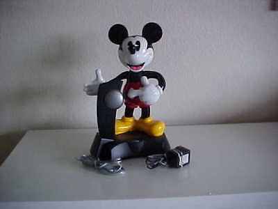 Mickey Mouse Animated, Talking Cordless Pushbutton Phone-Disney