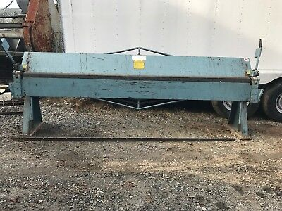 18 Gauge x 10' Roper Whitney Sheet Metal Brake Model 1018