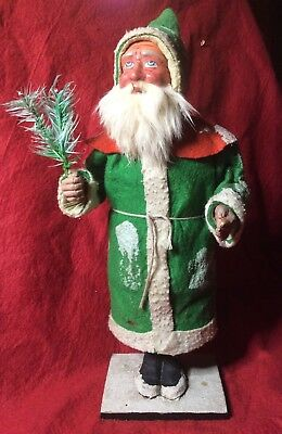 Antique German Santa Father Christmas Bobble Nodding Nodder Figure