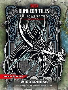 D&D Dungeon Tiles Reincarnated - Wilderness - NEW - 9780786966318 by Wizards of