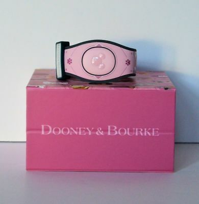 Disney Parks Dooney & Bourke Dogs Pink Magicband Magic Band 2 Limited Edition