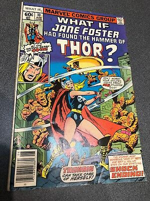 What If #10 1St Jane Foster As Thor Marvel Comics Fn/vf