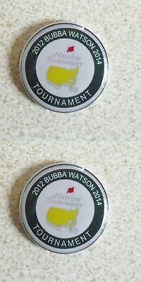 2 Only Bubba Watson Tribute 2012/2014 Golf Ball Markers-