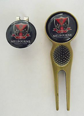 2 Only Melbourne Demons Golf Ball Markers, A Quality Divot Tool &  Hat Clip