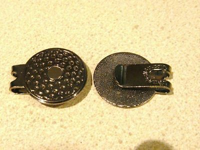 1 only   QUALITY  MAGNETIC HAT CLIP FOR GOLF BALL MARKERS approx 25mm