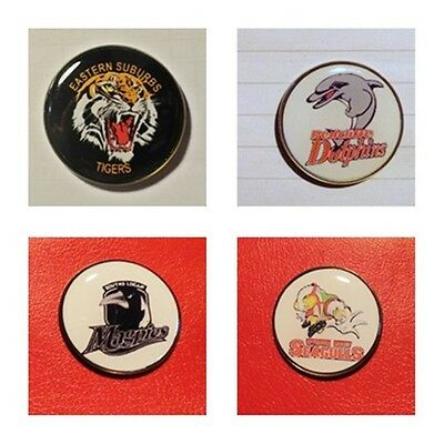 QUALITY GOLF BALL MARKERS - redcliffe, wynnum, logan, easts, tweed (large25mm)