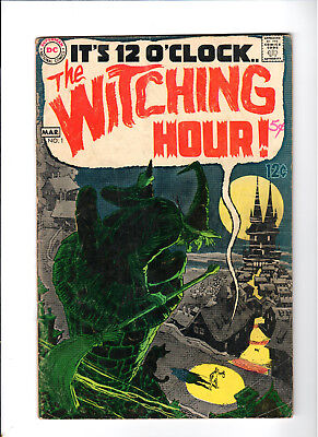 The Witching Hour #1 Neal Adams DC COMICS 1969