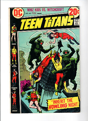 Teen Titans #43 (Jan-Feb 1973, DC)