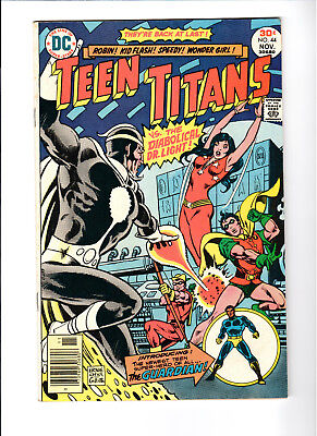 Teen Titans #44 Dr. Light app Mal Becomes the Guardian (Jan-Feb 1973, DC)