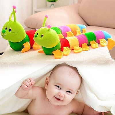 Colorful Inchworm Soft Caterpillar Lovely Developmental Baby Child Kids Toy Gift