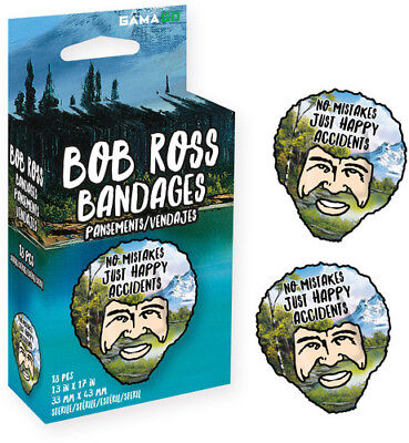 Bob Ross Bandages [New Other]