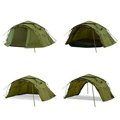 Qeedo Quick Bivvy 2 Carp Fishing 2 Man Tent with Quick Up System NEW