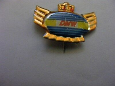 DMW Motorcycle very old lapel,hat pin badge(B).