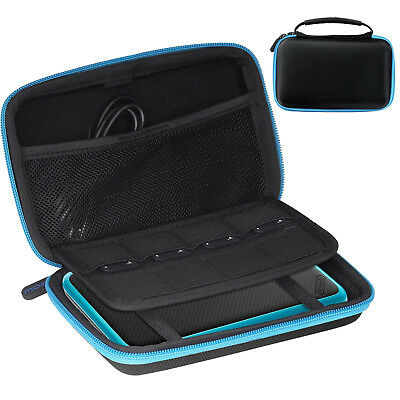 MoKo Waterproof Travel Carry Pouch Holder Case for Nintendo New 2DS XL / 3DS XL
