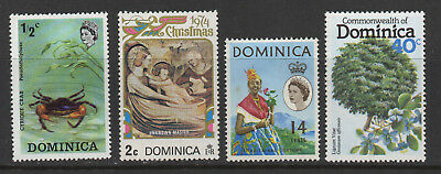 Dominica - 4 Miscellaneous MNH
