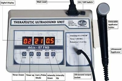 Ultrasound Ultrasonic therapy machine Pain relief Ultrasound 1mhz Original Ct