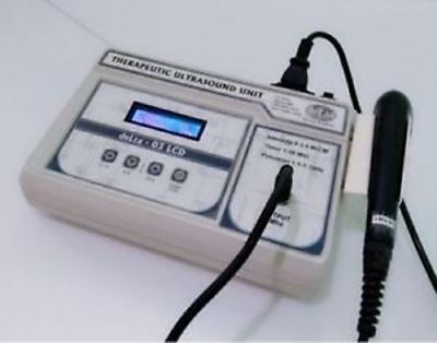NEW Ultrasound Therapy Unit 3 Mhz LCD display Pain Relief Therapy DLT FCO