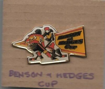 BENSON & HEDGES CUP Ice Hockey  Lapel badge