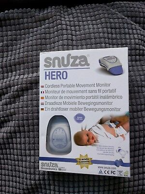 Snuza Hero MD Breathing Monitor BRAND NEW