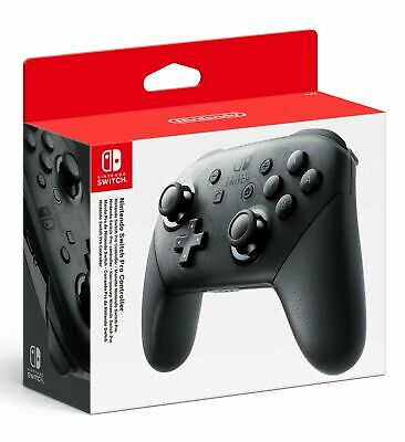 Switch Pro Controller - Pad Nintendo Switch Nuovo Edizione Black Hd Rumble Nfc