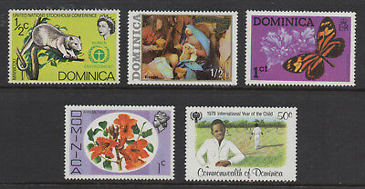 Dominica - 5 Miscellaneous MNH