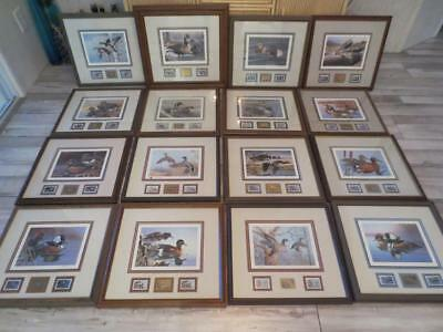 Pennsylvania Duck Stamp Collection 1983-1998 Medallion Series