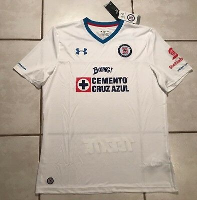 NWT UNDER ARMOUR COLO-COLO Chile 2016 2017 Soccer Jersey Men s Small ... d7d84b7d8