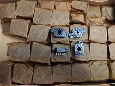 6pcs IN-12A / IN-12B / IN-15 / IV-22  Nixie  Tube Socket SK-136 Bakelite New NOS