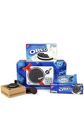 Oreo Music Box Cookie Record Player Collectible Holiday Gift GET IT BEFORE XMAS!