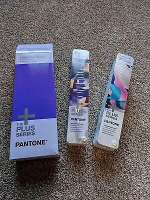 Pantone Formula Guide The Plus Series Solid Coated & Uncoated GP1601N NEW SEALED