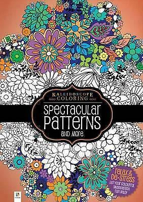Spectacular Patterns Adult Colouring Book 96P 210 x 296mm 69630***