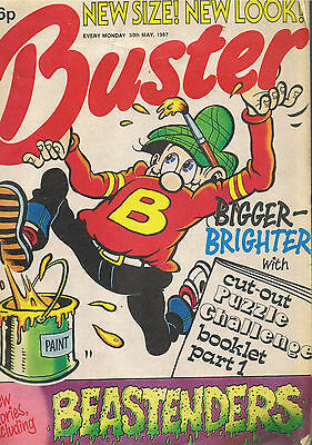 Buster Comic 30Th May 1987