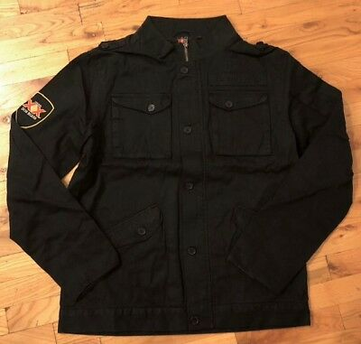 **RARE & MINT** Dos Equis XX Beer Mens Large L Military Field Cargo Jacket Coat