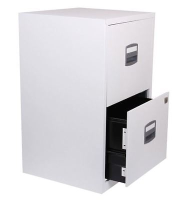 Bisley Metal Filing Cabinet 2 Drawer A4 672 x 413 x 400mm
