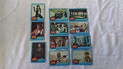 Star Wars Trading Cards Lot Of 24 Cards