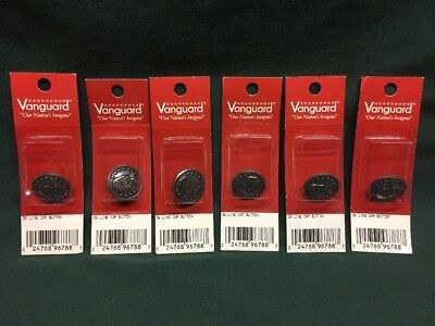 Lot Of 6 Civil Air Patrol CAP Buttons 36 Ligne New Vanguard